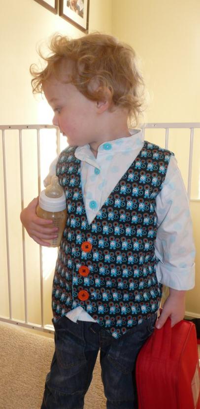 waistcoat Bobins and buttons