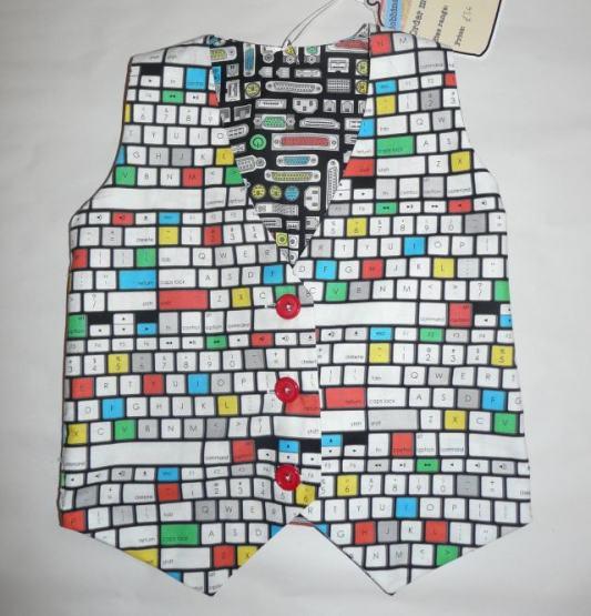 wally waistcoat bobbins and buttons