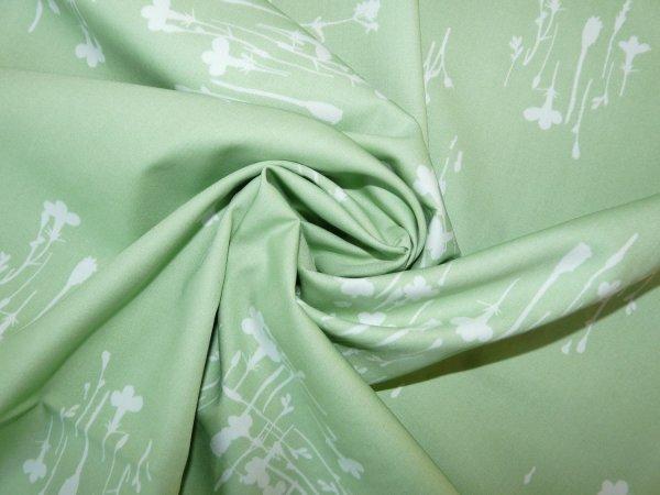 Art Lavish Sunprint Fern-cotton Fabric