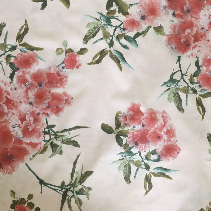 Soimoi Fabric Berries,Leaves /& Floral Artistic Print Sewing Fabric Meter-AR-852A