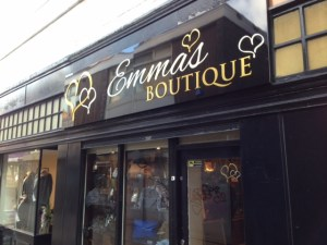 Emma's Boutique Shop Fascia