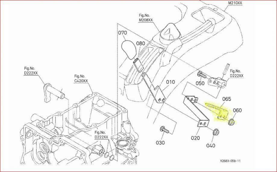 Kubota Bx23 Parts Manual