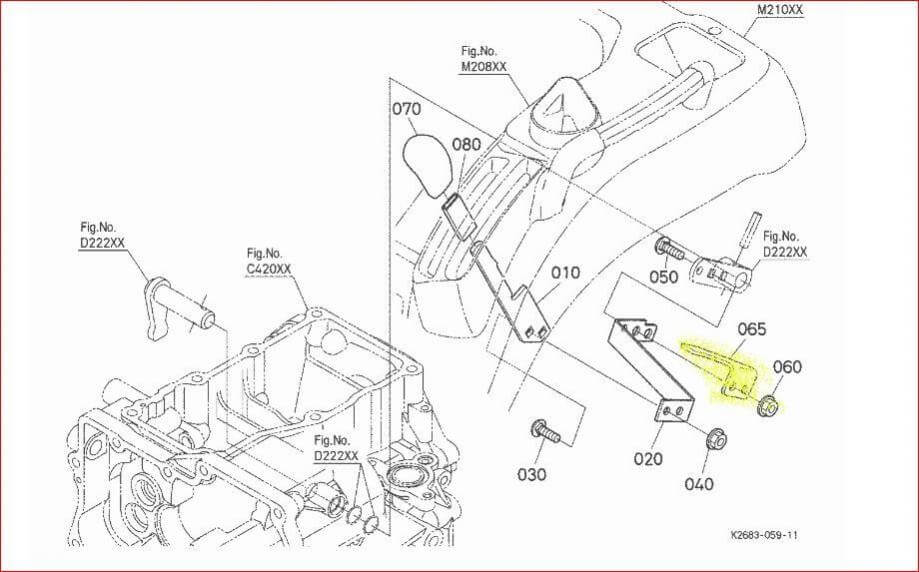 kubota tractor electrical diagram