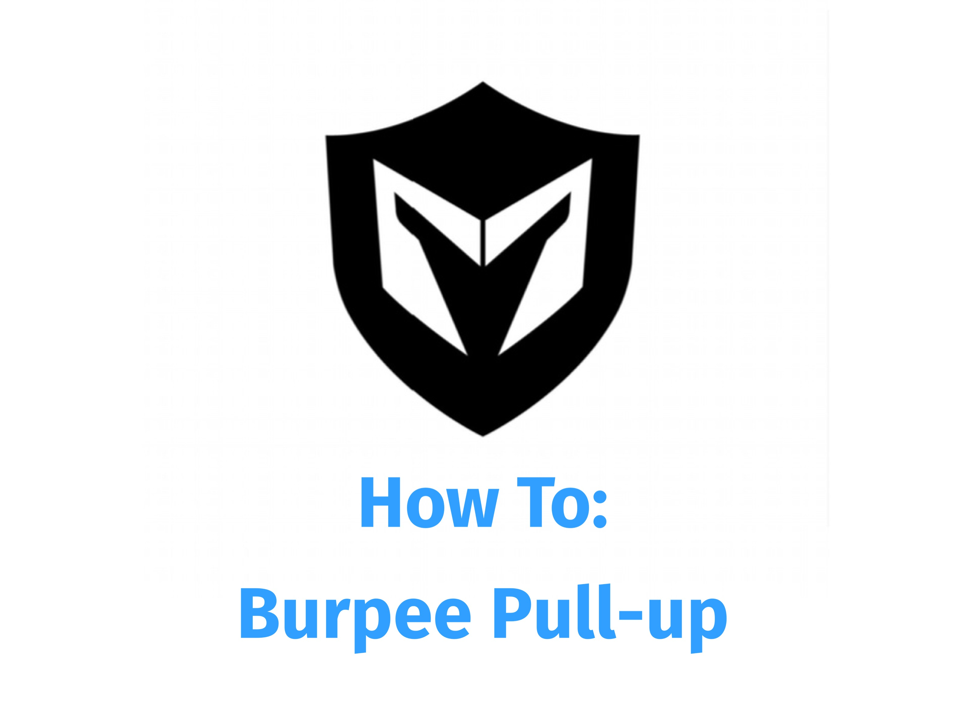 How To Video: Burpee Pull-up