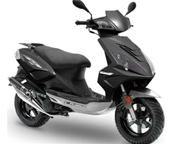 TAOTAO 50cc Moped Scooter with 12 Big Tires and Big Rear