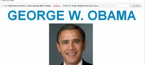 George-W.-Obama