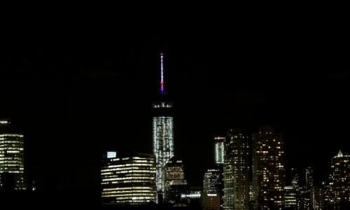 One World Trade Center Light Test