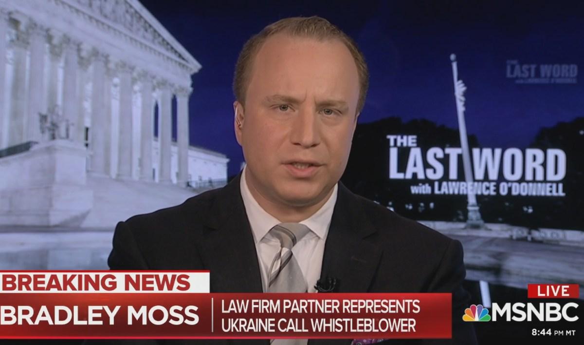 The Bob Cesca Show: Whistleblower Lawyer Bradley Moss 10/16/19 – The Bob  Cesca Show | News and Politics Podcast and Blog