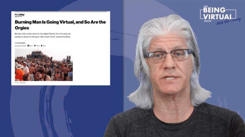 Virtual Events: Orgies at Burning Man