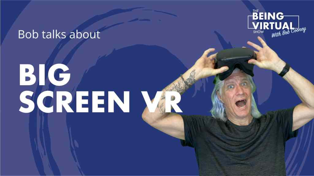 BigScreen VR let's you watch with your friends