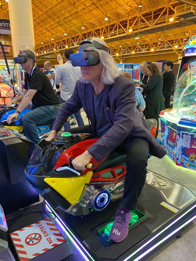 Unis Moto VR Arcade Game
