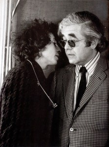 Bob Dylan and Albert Grossman