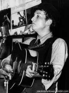 Dylan at Gerdes 1961