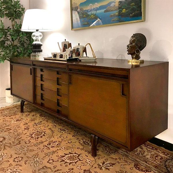sideboard Luigi Massoni vintage modernariato Bobeche