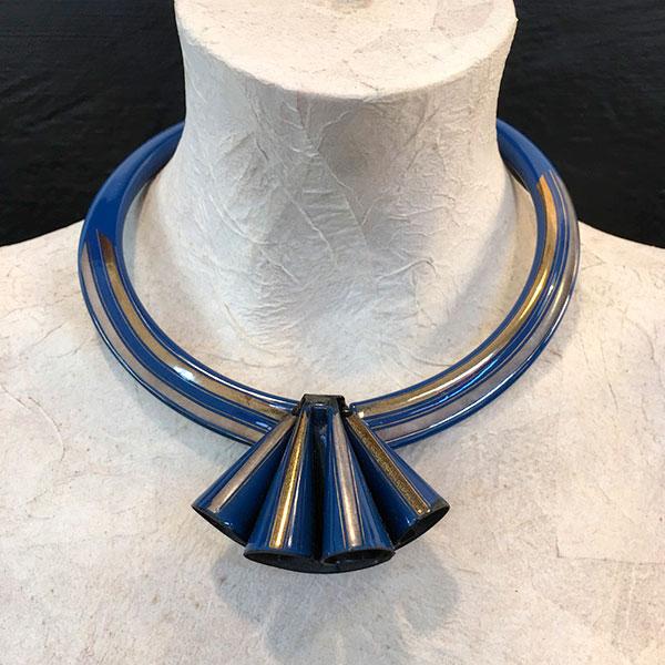 collana Laurana blu