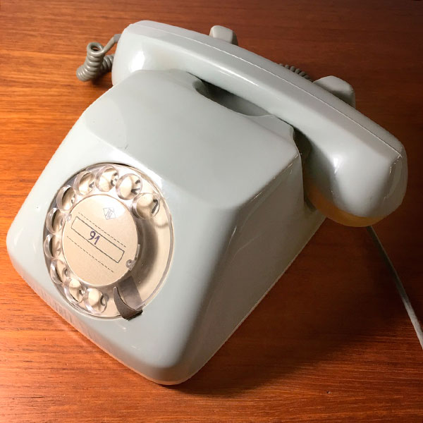 telefono TN tedesco vintage Bobeche