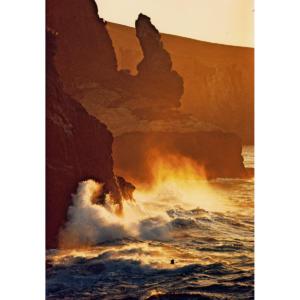 Santa Barbara Island Waves Crashing