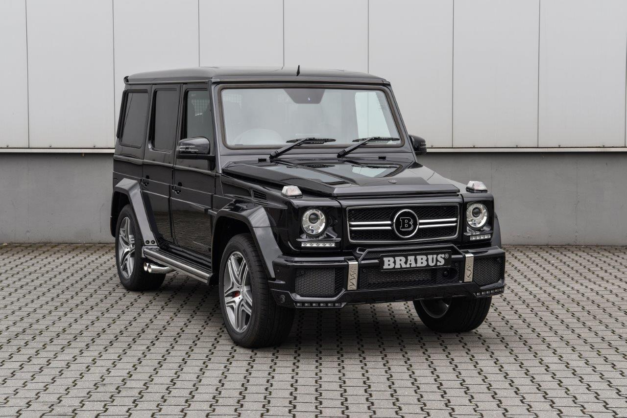 BRABUS B63 620 WIDESTAR based on Mercedes-Benz G63 AMG – RHD (2018)