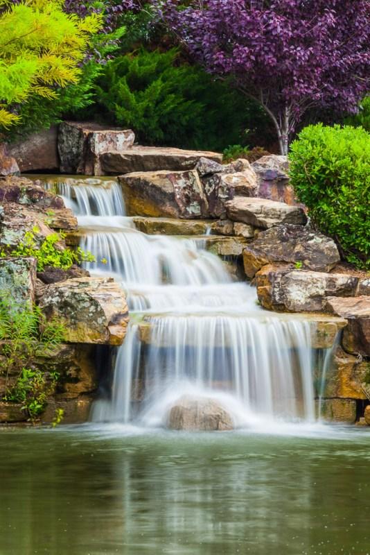 10169. Waterfall, Fayetteville, Arkansas