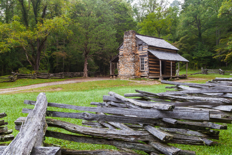 10188. John Oliver Cabin, Cades Cove, Tennessee