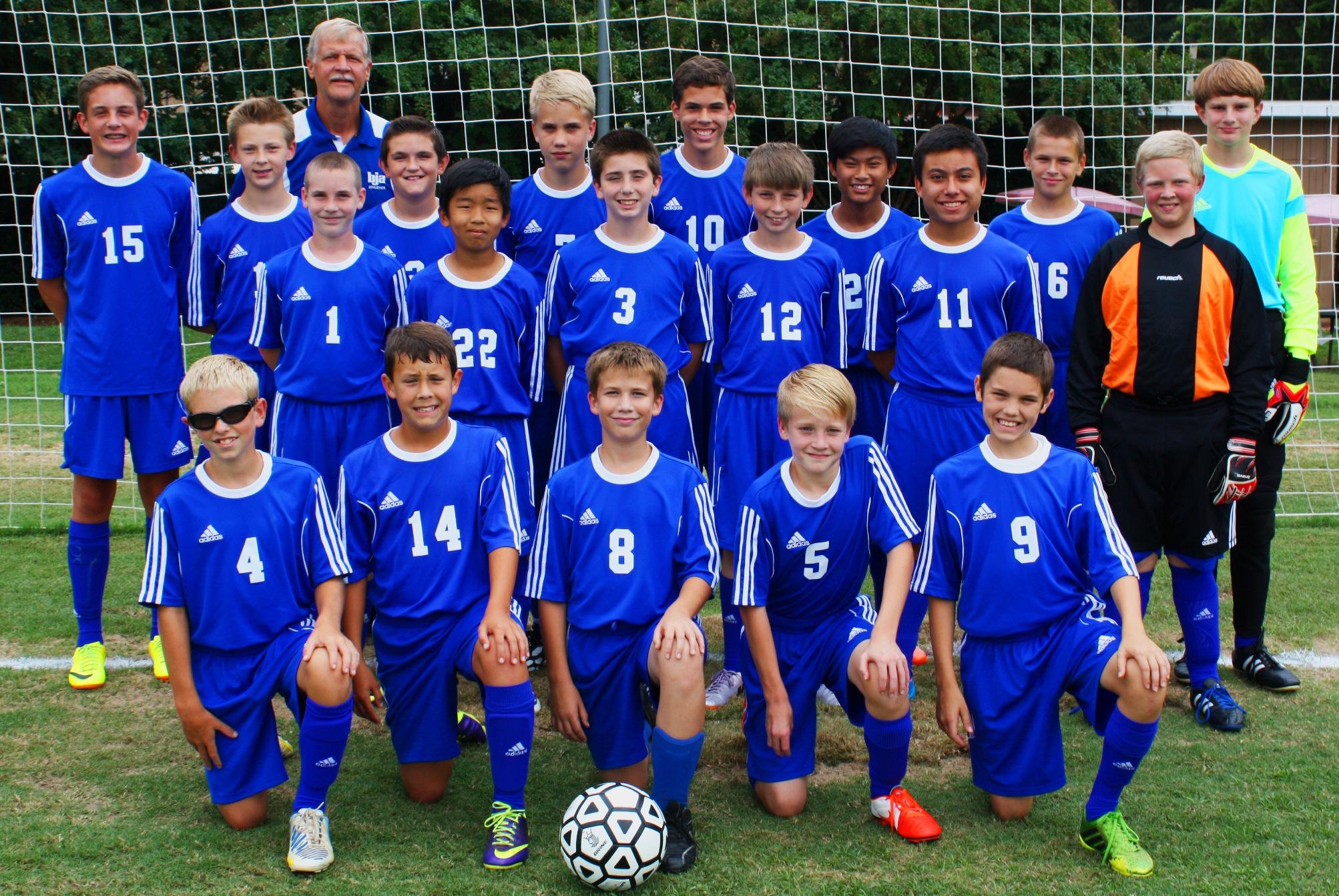 Middle School Soccer