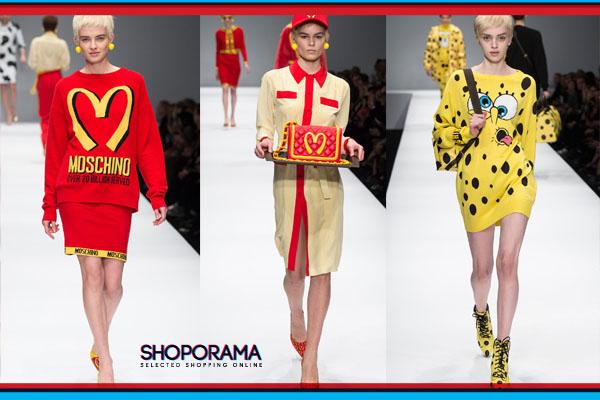 fun fashion moschino chiara ferragni shoporama.it bobos.it