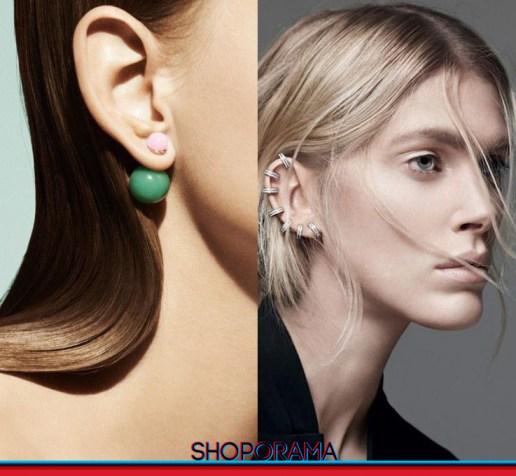Christian Dior - Repossi, Mise en Diro, mono earring, mono orecchino, jewel