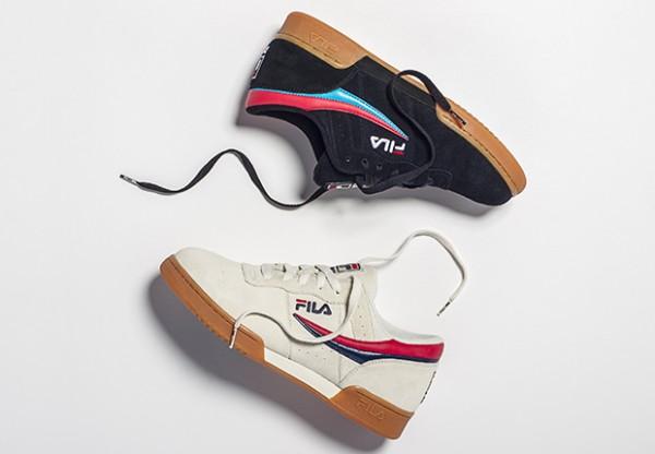 fila boots zebrate