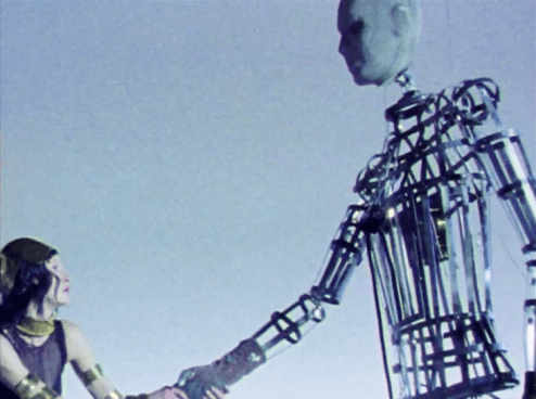 The Mechanical Man of the Moon