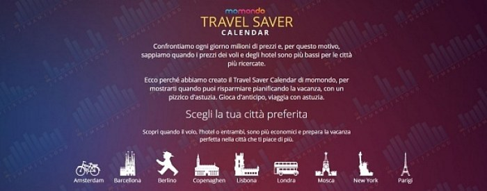 Travel Saver Calendar - Parigi - Momondo.it