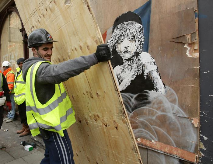 Britain Banksy Art