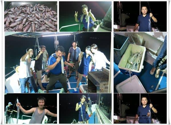 【海釣】基隆碧砂漁港。今夜出海去捕魚!!『玉龍貳號』夜釣白帶、小卷好好玩~