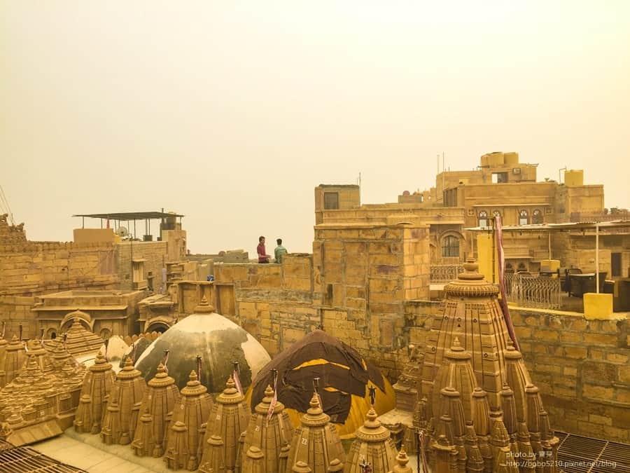 【印度】Day21 拉賈斯坦邦,齋沙默爾Jaisalmer。印巴邊境的金色沙漠小鎮。