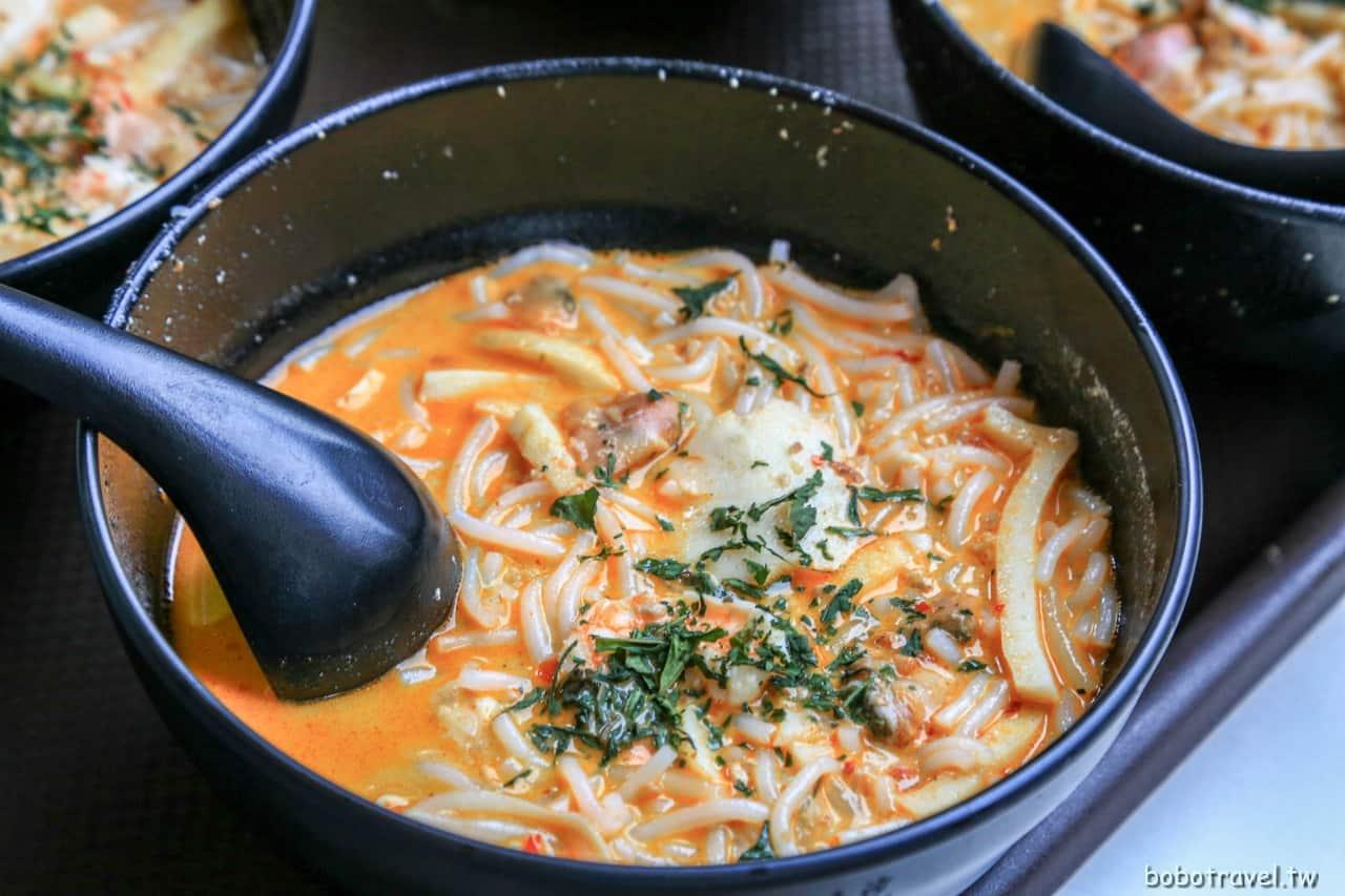 【新加坡美食 328加東叻沙 Katong Laksa】米其林必比登推薦叻沙!椰香滿溢,濃厚香醇的迷人風韻