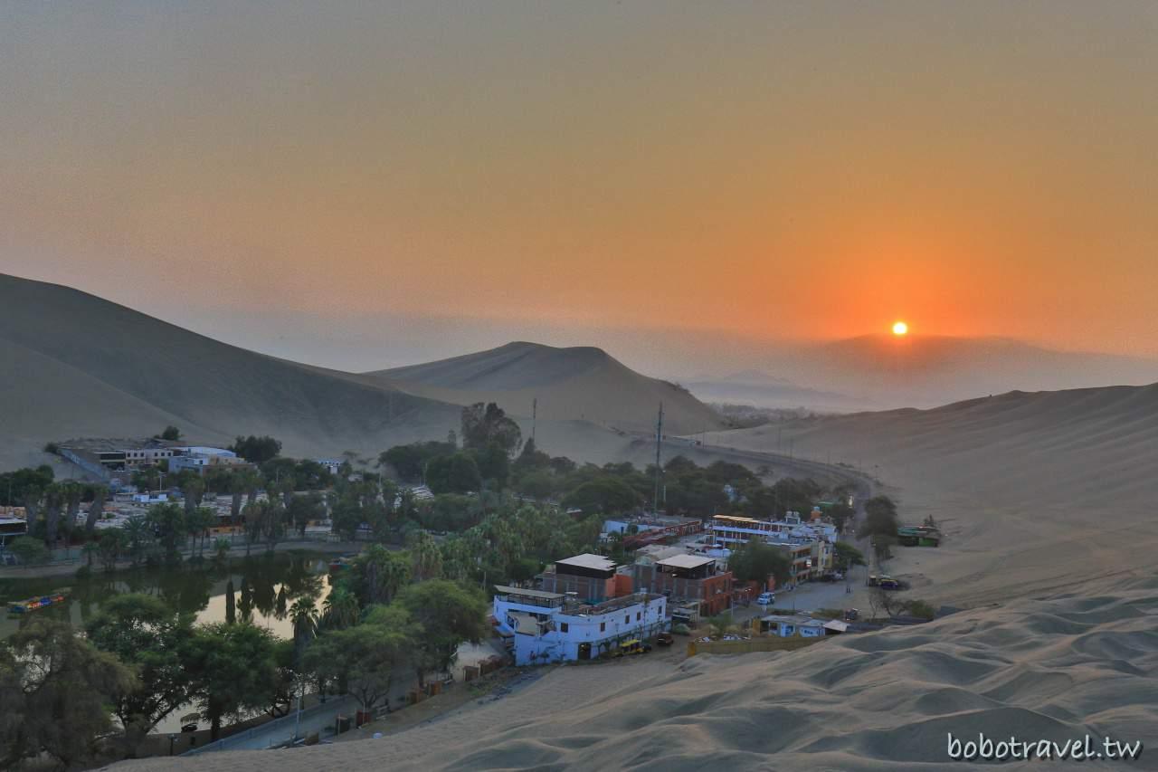 【秘魯旅行|伊卡ICA 】DAY3-1 Huacachina  瓦卡奇納日出與沙漠愛情故事。