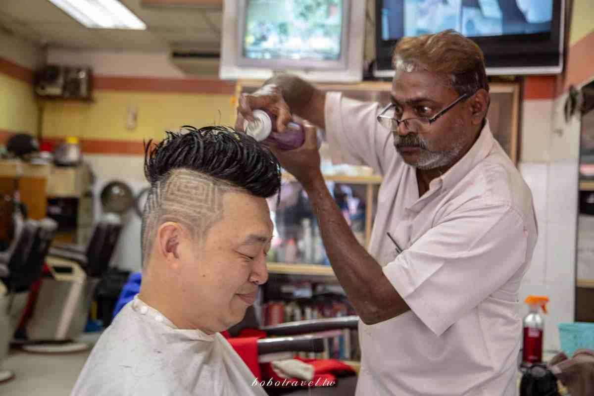 印度理髮16