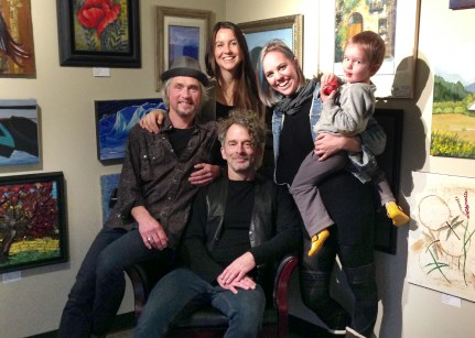 Luminous Skye (l to r) Warren Meier, Kelly Holmes, Bob Paltrow, Bekah Zachritz & Cooper