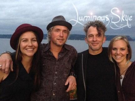 Luminous Skye (l to r) Kelly Holmes, Warren Meier, Bob Paltrow and Bekah Zachritz