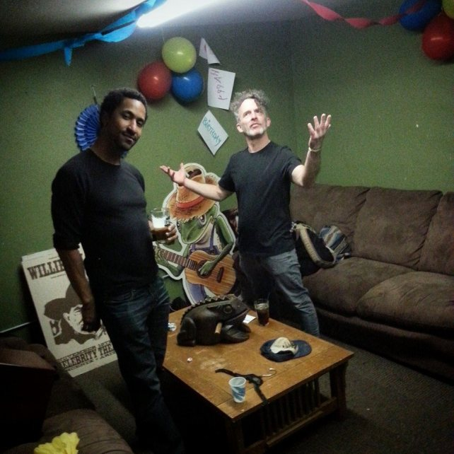 David Vaughns and Bob Paltrow, Green Frog Acoustic Tavern Bellingham WA