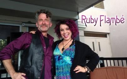 Ruby Flambé Bailey Anne Martinet + Bob Bob Paltrow Music Web Slide Banner