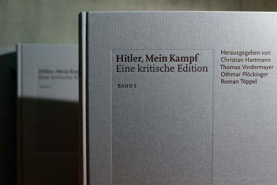 "British historian Sir Ian Kershaw speaks at the presentation of the new critical edition of Adolf Hitler's ""Mein Kampf"" at the Institut fuer Zeitgeschichte (Institute for Contemporary History)on January 8, 2016 in Munich, Germany. The new edition, which augments Hitler's original text with critical analysis, is the first new publication of the book in Germany since World War II. The state of Bavaria held the copyright to the book and prohibited publication, though the copyright expired on January 1 of this year. Adolf Hitler wrote ""Mein Kampf"", which is both an autobiography and a presentation of his political views, while he was a prisoner in Germany in the 1920s."