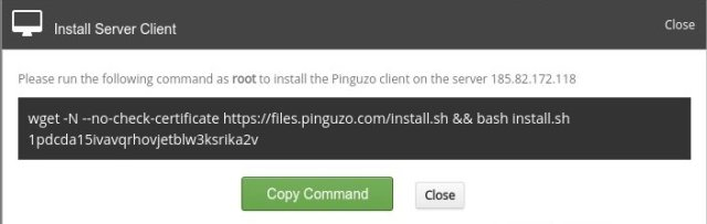 pinguzo-run-command