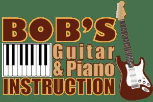 Bob's Guitar & Piano Instruction Logo