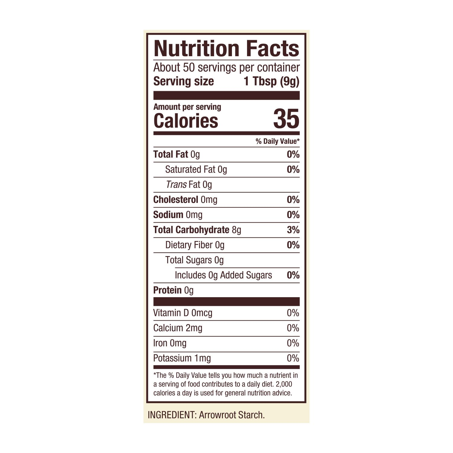 Arrowroot Starch | Bob's Red Mill Natural Foods