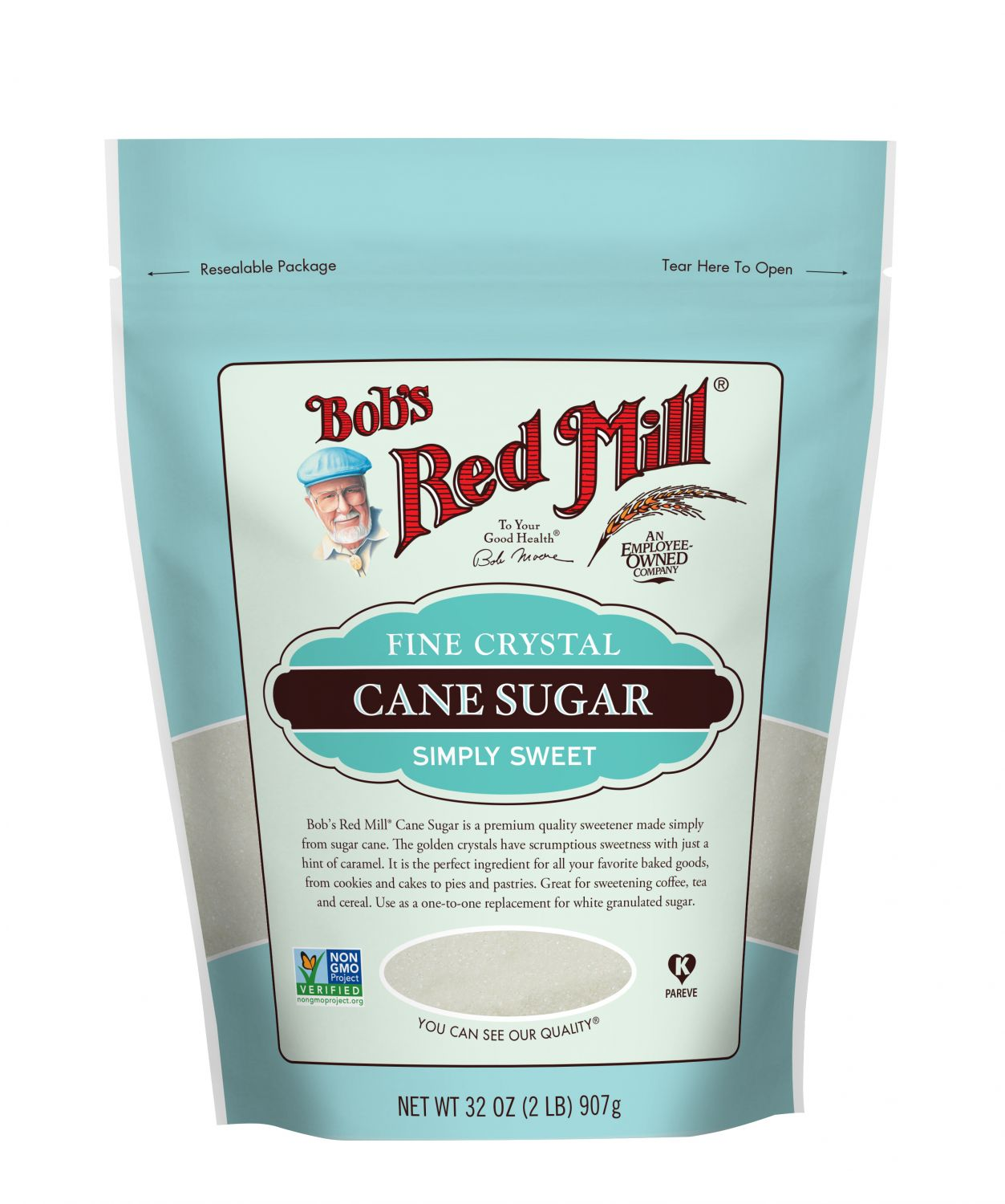 Buy Fine Cane Sugar for Baking   Bob's Red Mill Natural Foods