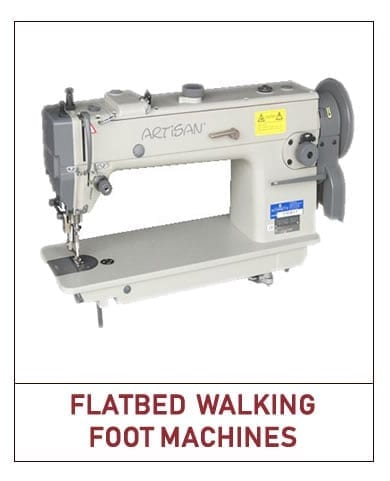 flatbed walking foot machines