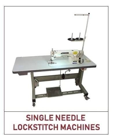 single needle lockstitch machines