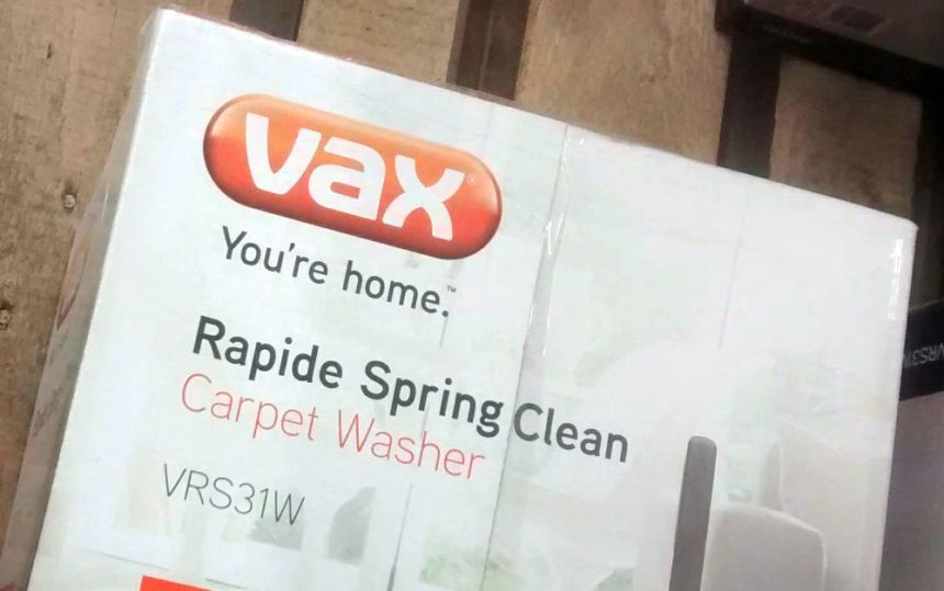 vax rapide spring carpet washer instructions