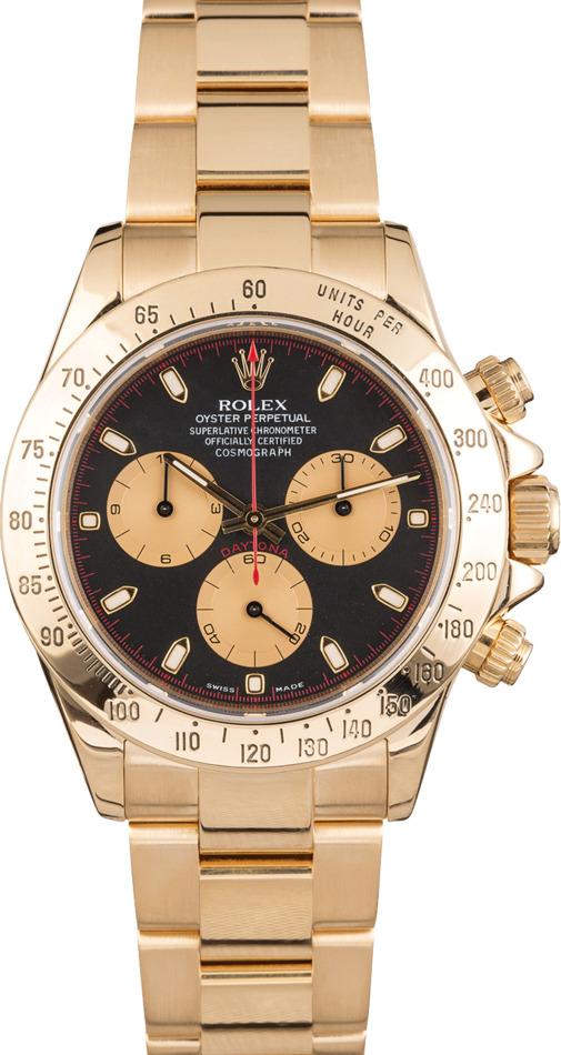 Buy Used Rolex Daytona 116528 | Bob's Watches - Sku: 123985