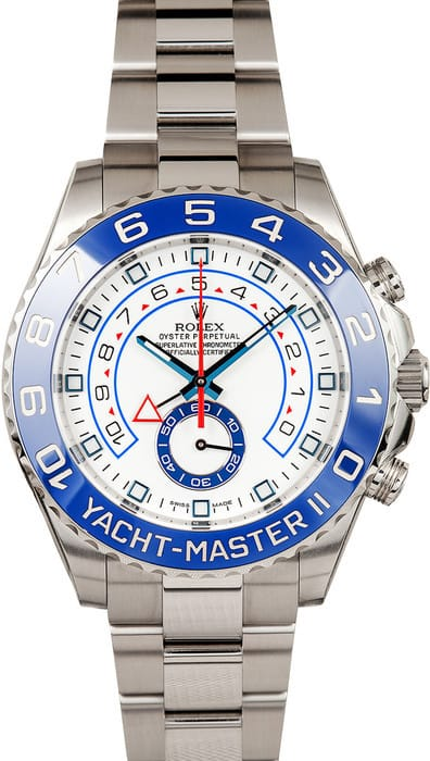 Rolex Yachtmaster II 116680 Stainless Steel Bobs Watches